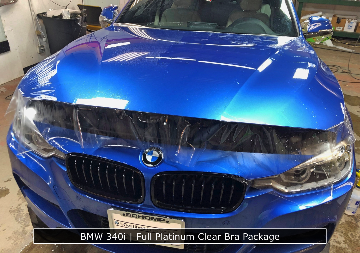Full Hood Clear Bra BMW 340i
