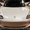 Tesla Model 3 With Clear Bra Package And IR Tinting