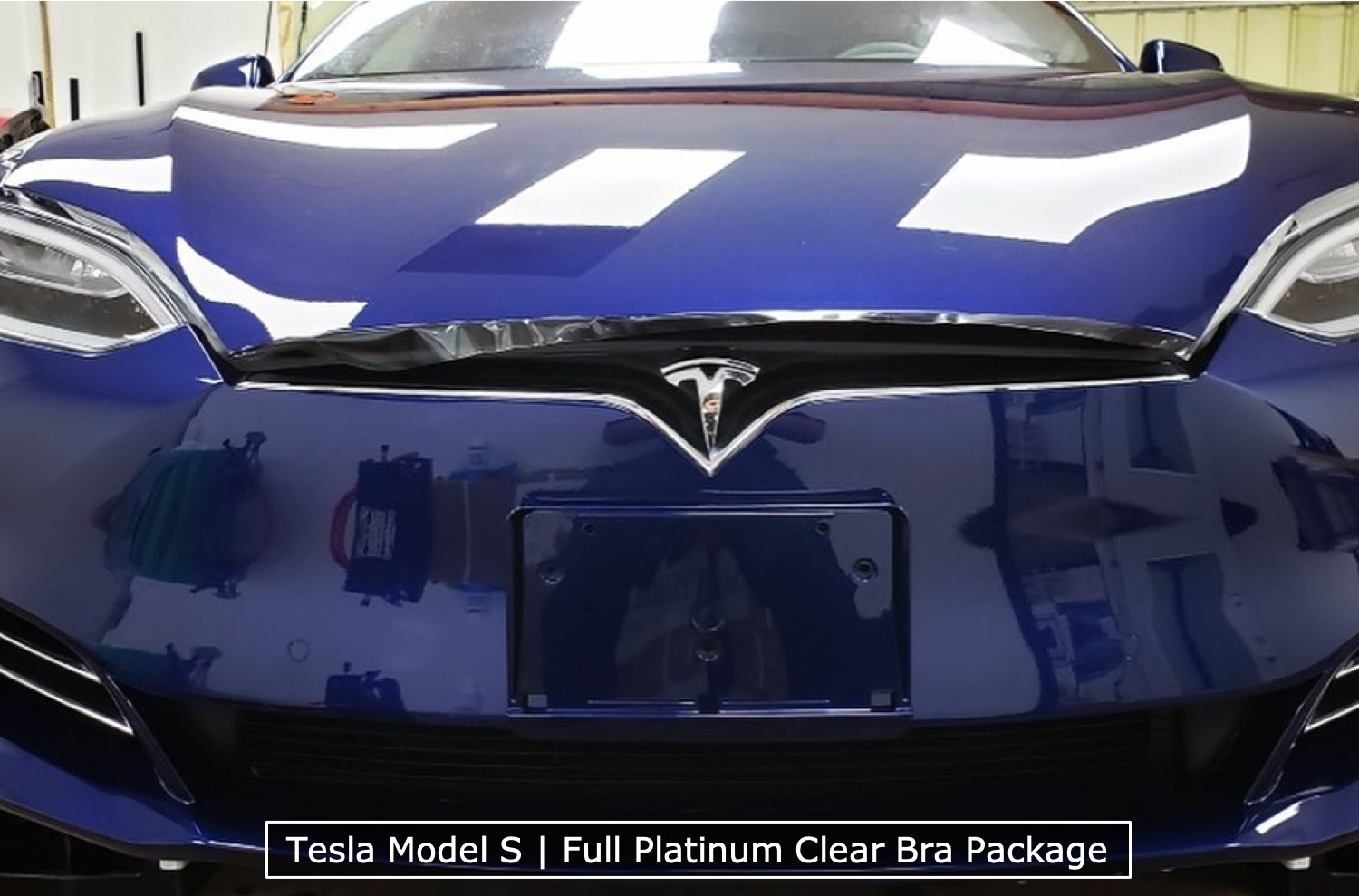 Full Platinum Clear Bra Package On Tesla By Denver Auto Tint