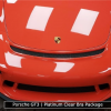 Porsche GT3 Hood With Clear Bra