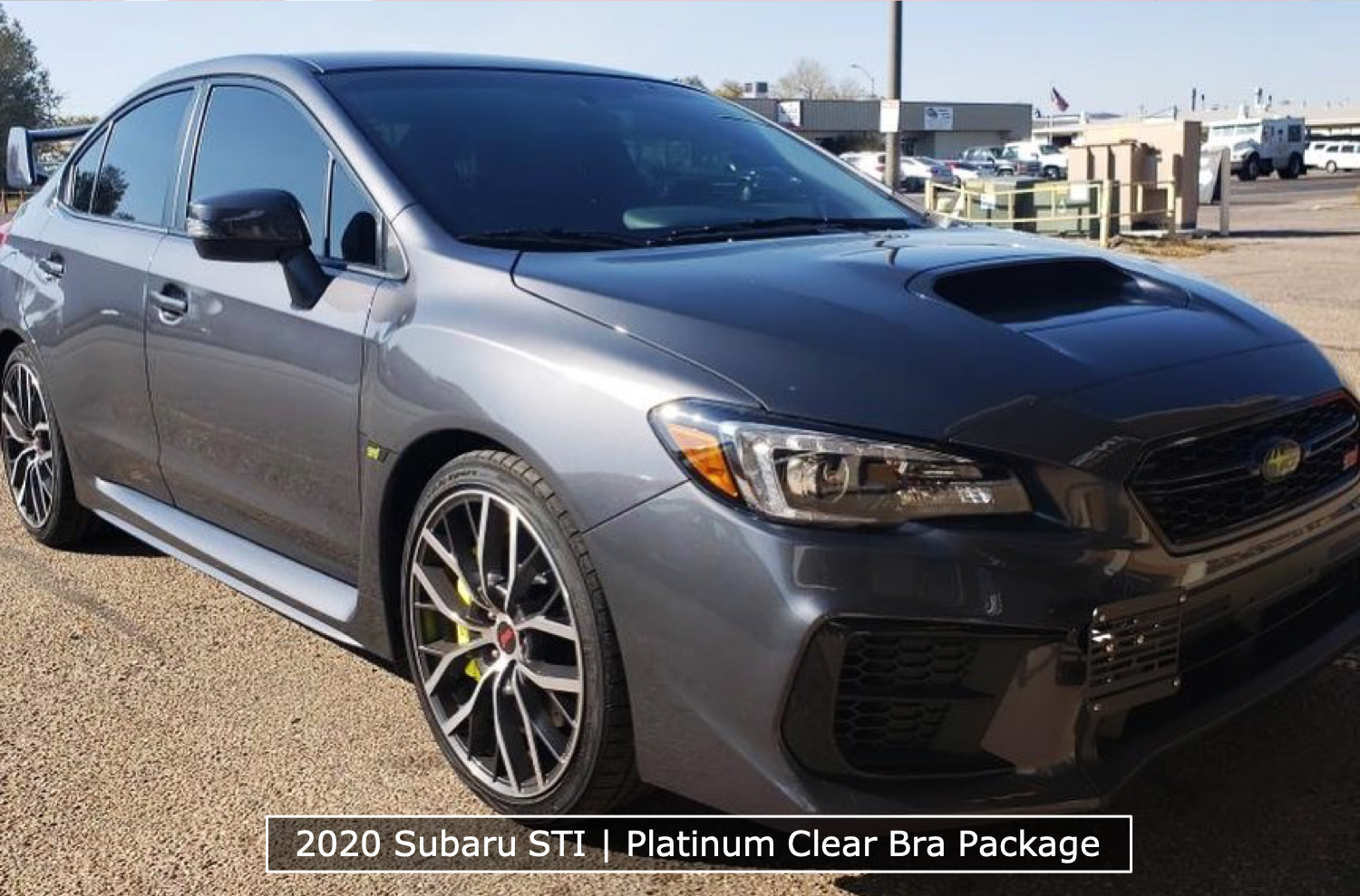 Subaru STI Platinum Clear Bra Package