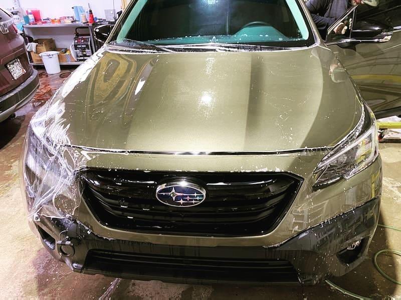 Subaru Getting A Platinum Clear Bra Package