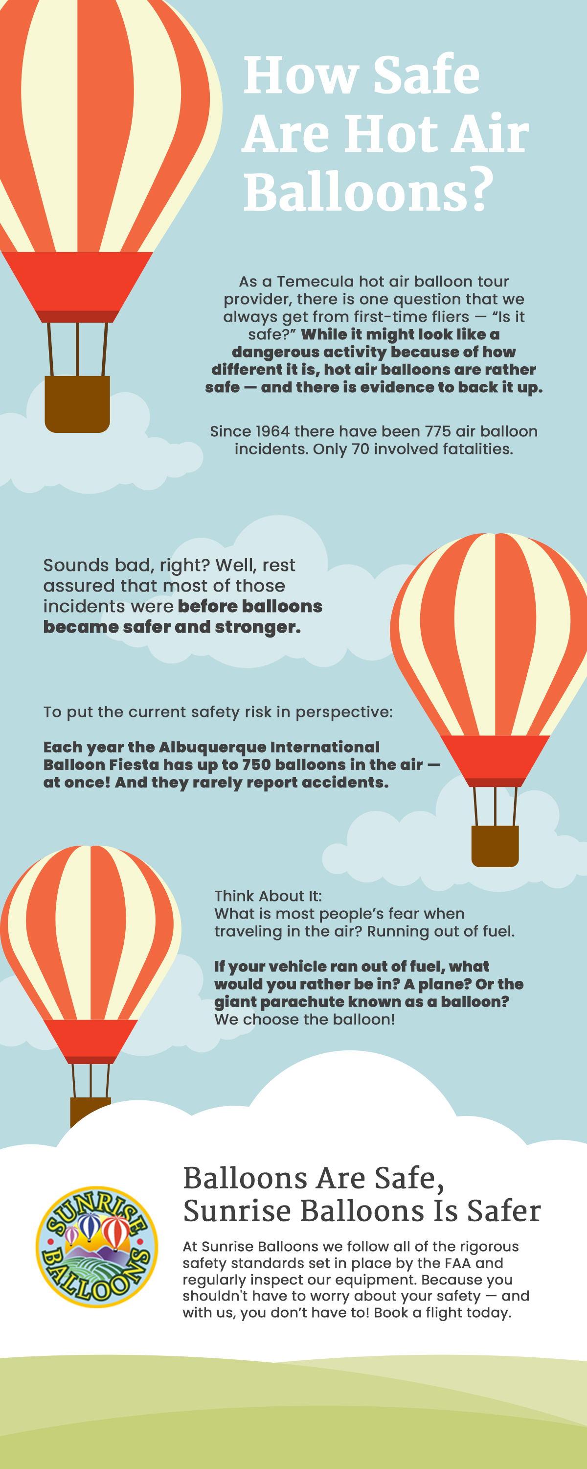 How Safe Are Hot Air Balloons