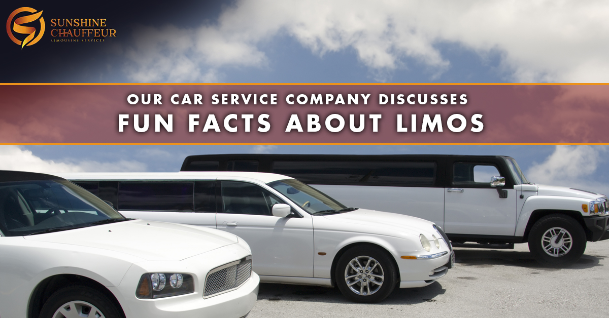 Do You Love Limos As Much As We Do At Sunshine Chauffeur Limousine Services In Daytona Beach Every Time We Encounter Another Limo On The Street