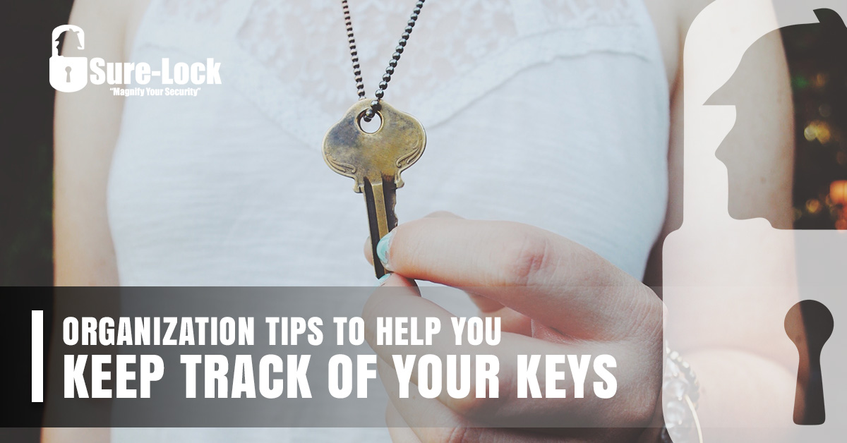 Organization Tips to Help You Keep Track of Your Keys