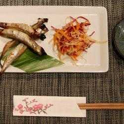Asian food dish