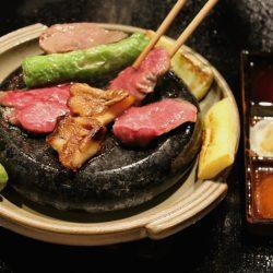 Hibachi dish