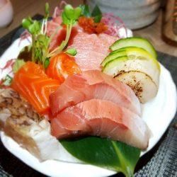 Sashimi dish