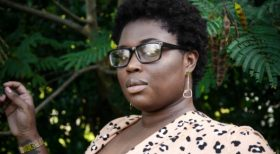 image of a woman with short natural hair