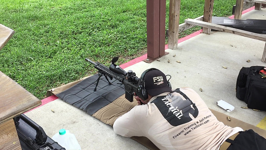 Tactical Training Courses - Take A Private Rifle Lesson Today