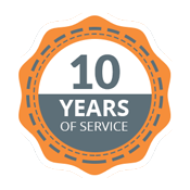 10 Years of Trusted Service