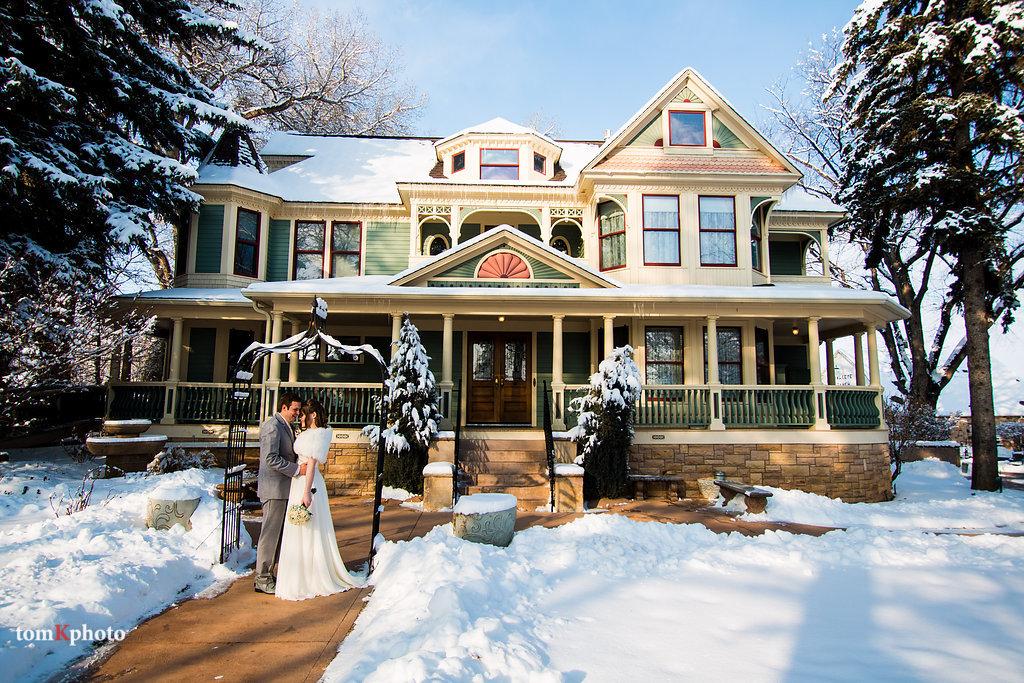 Snowy wedding - Tapestry House - LaPorte, Colorado - Larimer County - Wedgewood Weddings
