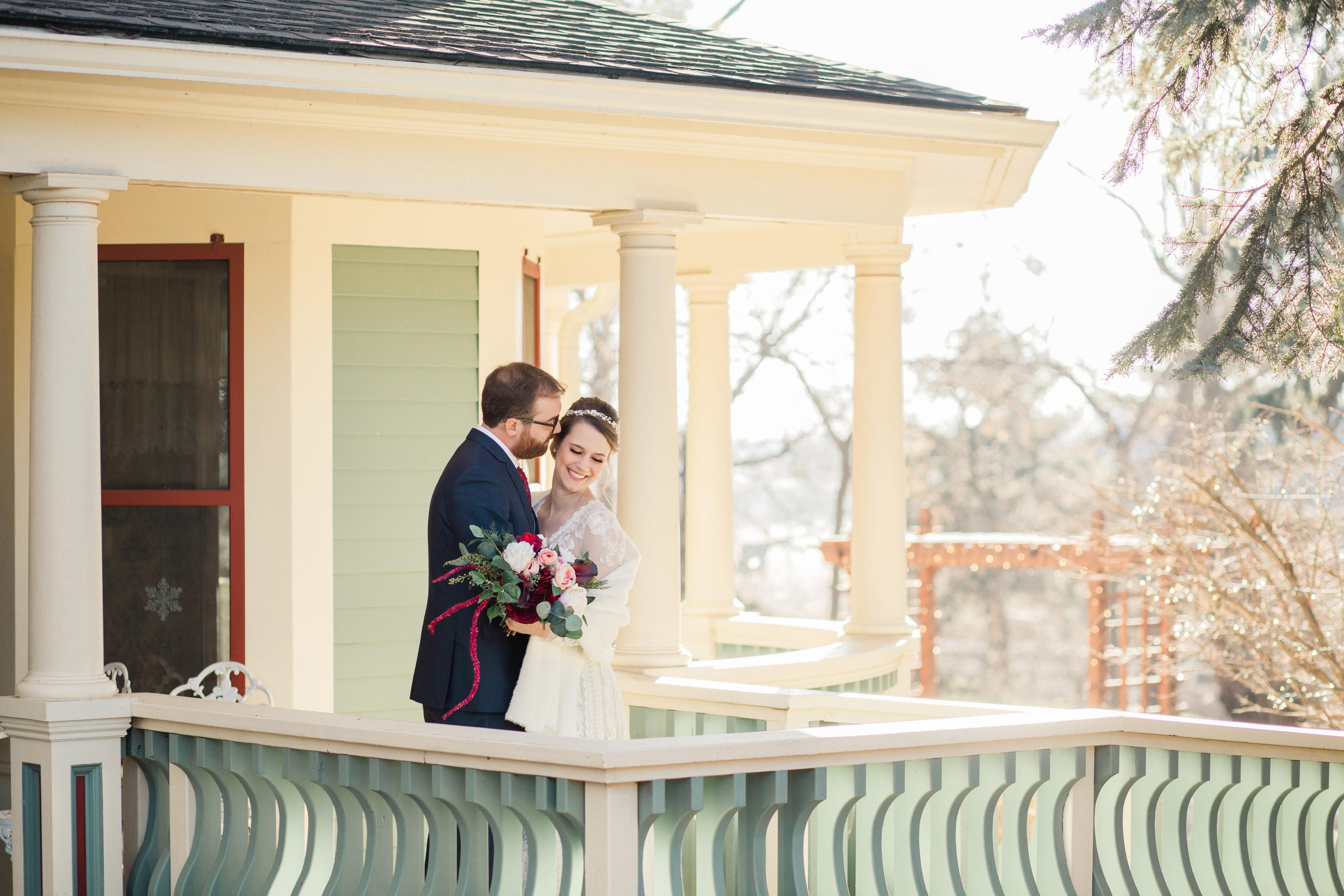 Bride and Groom - Tapestry House - LaPorte, Colorado - Larimer County - Wedgewood Weddings