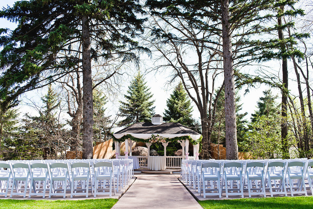 Garden Ceremony Site - Tapestry House - LaPorte, Colorado - Larimer County -Wedgewood Weddings