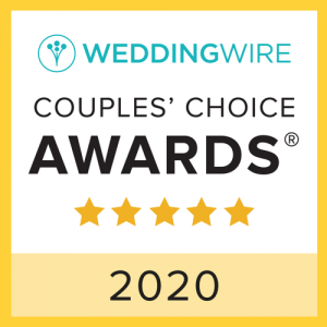WeddingWire Couples' Choice Award - Tapestry House by Wedgewood Weddings
