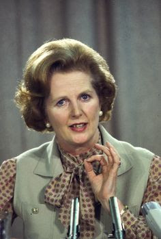Margaret Thatcher (UK prime minister)