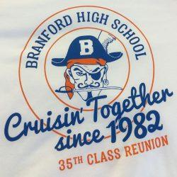 Custom shirt design for Branford High School
