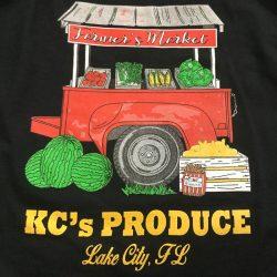 KC's Produce custom t-shirt design