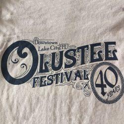 Custom shirt design for the Olustee Festival