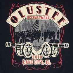 Olustee Reenactment custom t-shirt design