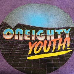Custom t-shirt design for Oneighty Youth