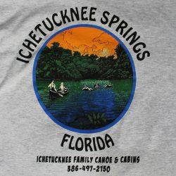 Ichetucknee Springs custom t-shirt design