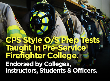 Firefighter CPS practice tests. OS NFST