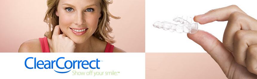 Get the smile you want with Clear Correct!