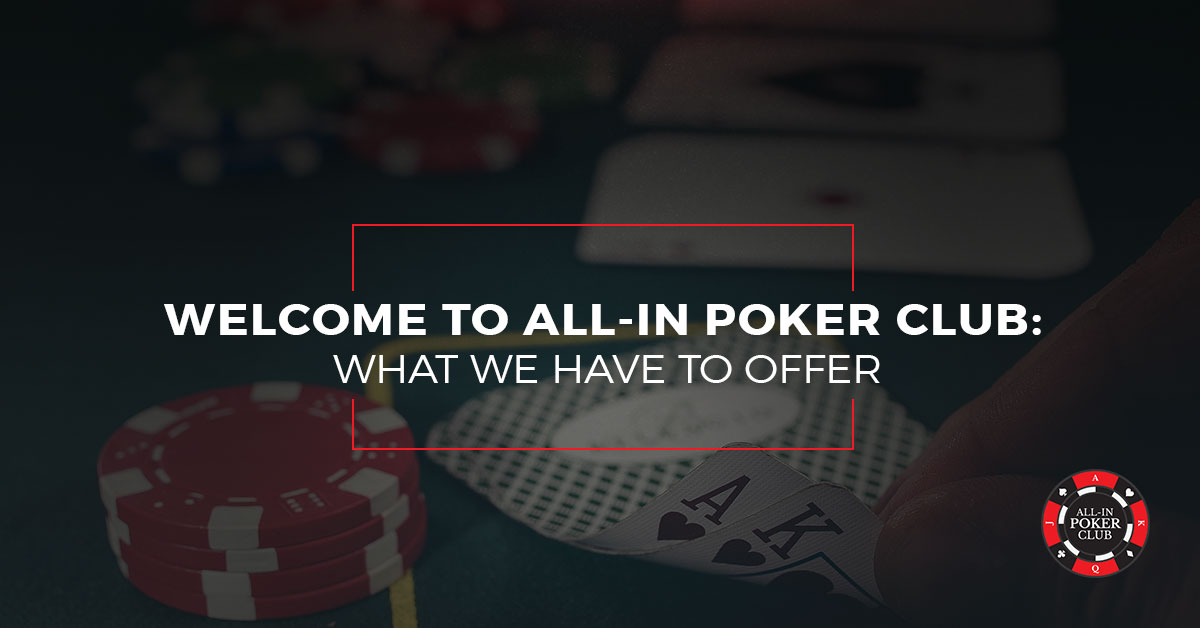 Welcome to All In Poker Club