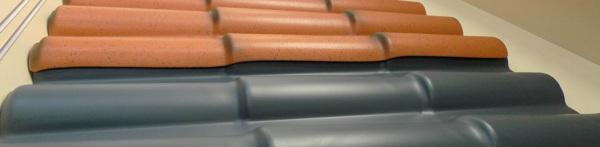 plastic roofing panels