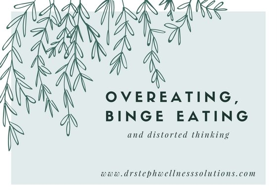 Texoma Specialty Counseling | Overeating, Binge Eating, and Distorted Thinking | Eating Disorder Counselor | Sherman, TX | 888-659-7618 |