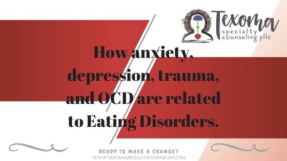 Texoma Specialty Counseling | Eating Disorder Counselor | Sherman, TX | 888-659-7618