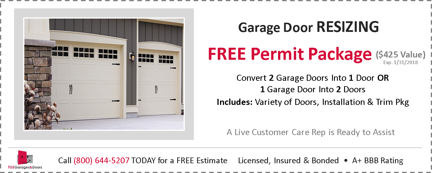 Garage Door Coupons Installations Amp Repairs Tgs