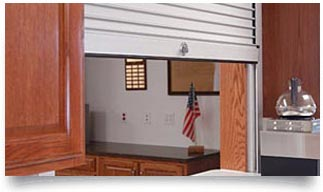 commercial roll up counter shutters fire rating