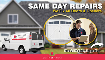 TGS – Residential Garage Door Repair
