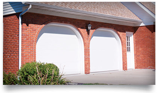 residential styles flush panel garage door
