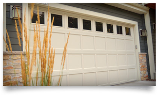 residential styles recessed panel garage door
