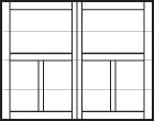 Carriage House Overlay Fiberglass Door Options Tgs