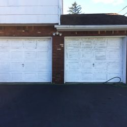 Garage Door Repair in North Brunswick - Before Picture