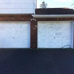 Garage Door Repair in North Brunswick - Before Picture