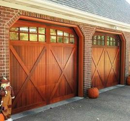 Superieur Carriage House Overlay Cedar Faced Door Options