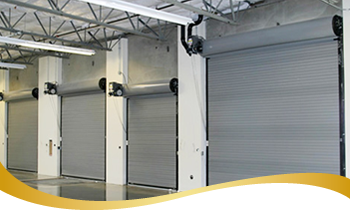 Commercial Rolling Steel Garage Door