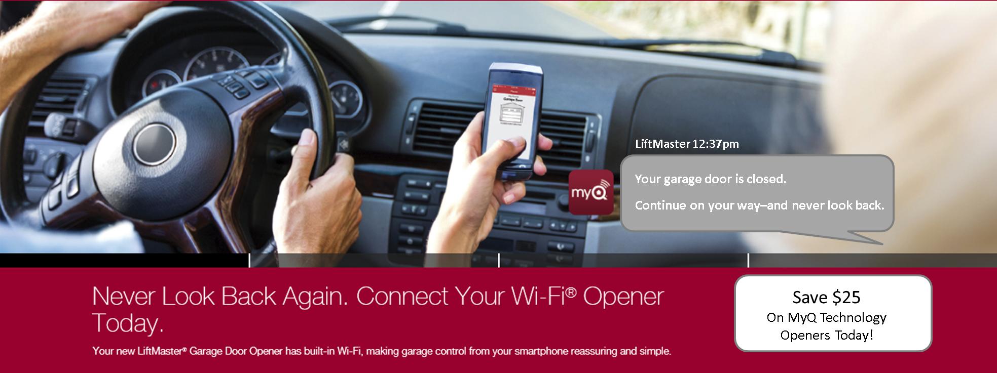 LiftMaster MyQ Webpage Image