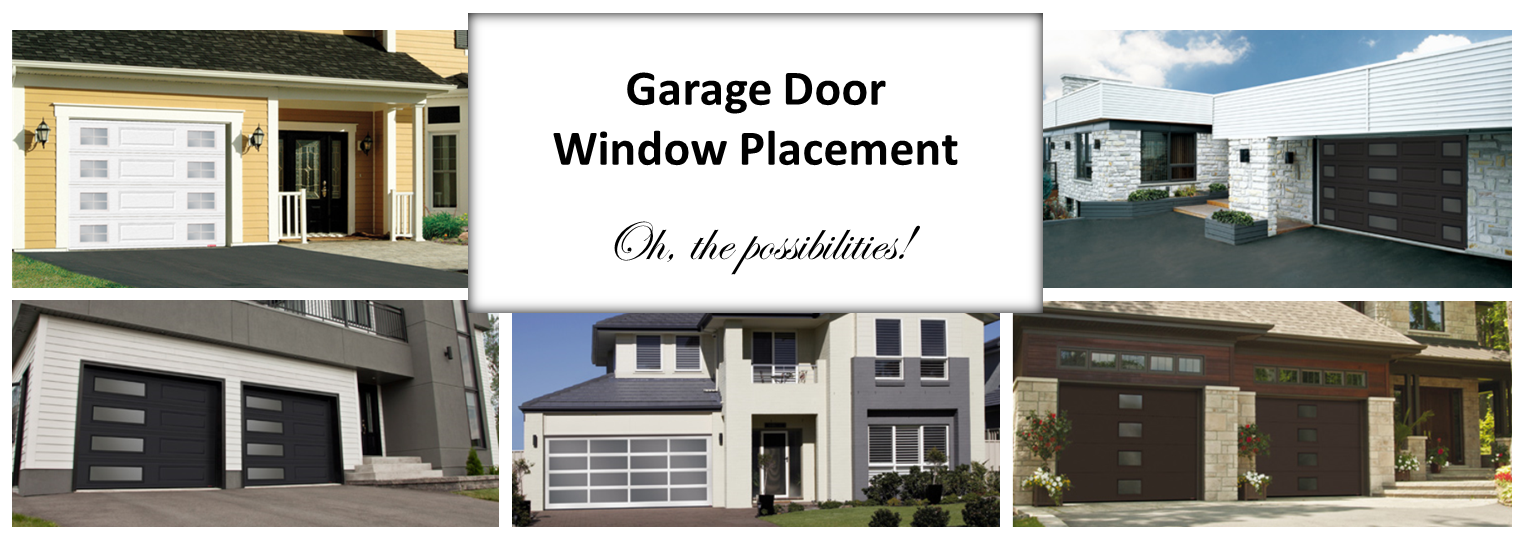 Garage Door Window Placement