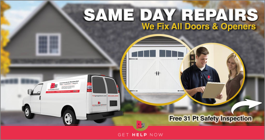 Same Day Garage Door & Openers Repairs