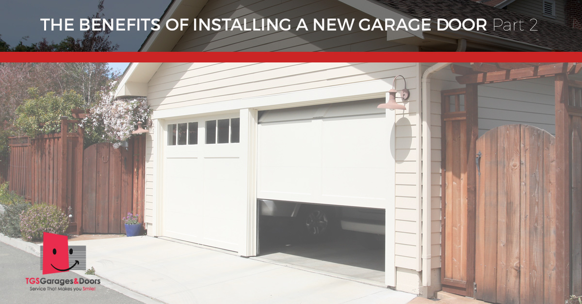 New Garage Doors New Jersey More Benefits Of Installing A New Door