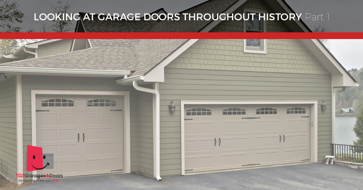 New garage doors new jersey the history behind your for New garage