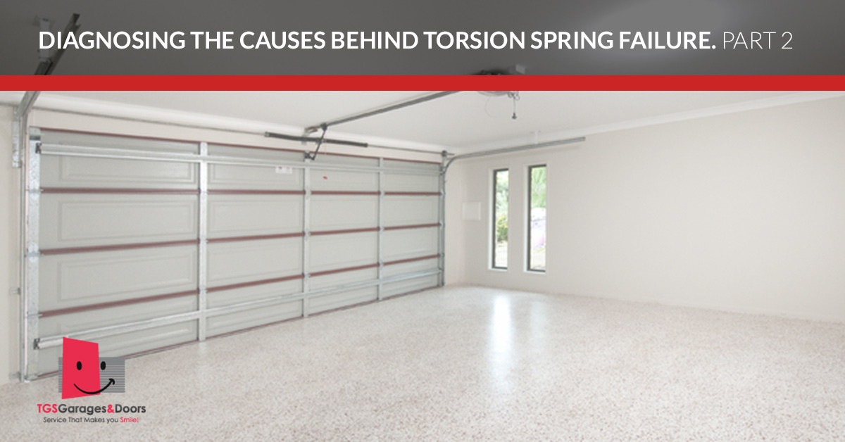 Your Overhead Door Represents The Biggest Moving Part Of Your Home. From  The Door Itself To The Torsion Springs, There Are A Lot Of Moving  Components That ...