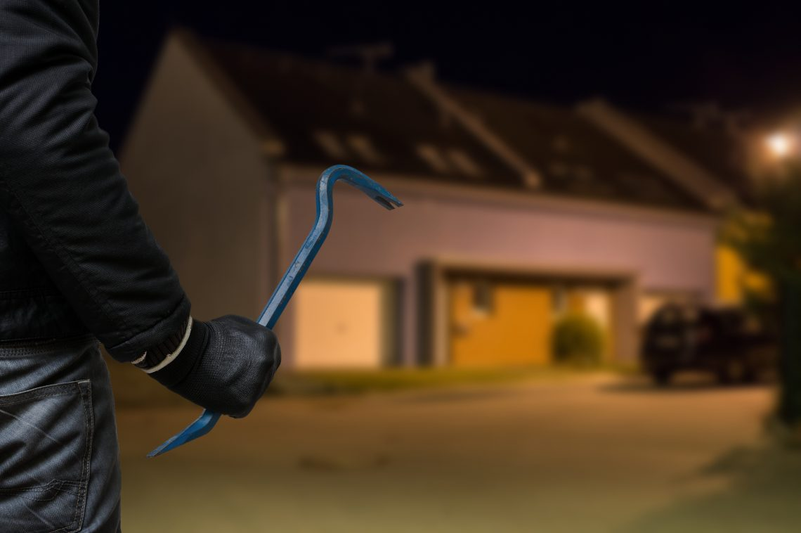 Protecting Garage door from Burglary