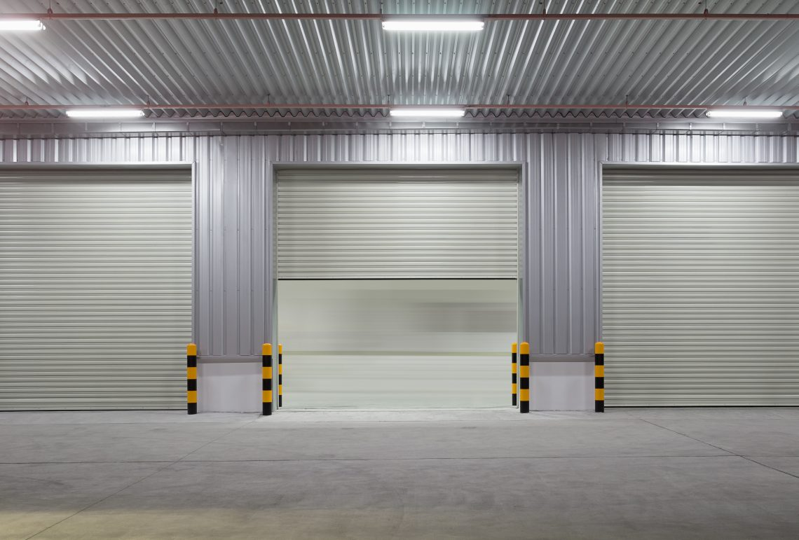 sectional non steel garage commercial door insulated doors